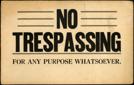 trespass to chattels example