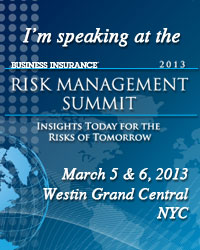 2013 Risk Management Summit